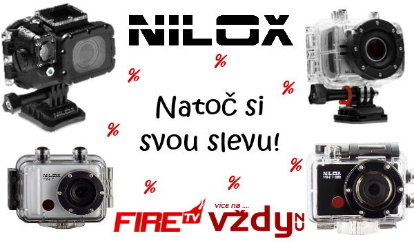 Natoč si svou slevu na kamery Nilox!