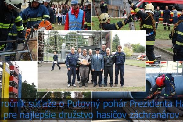 XI. ročník súťaže o Putovný pohár prezidenta HaZZ