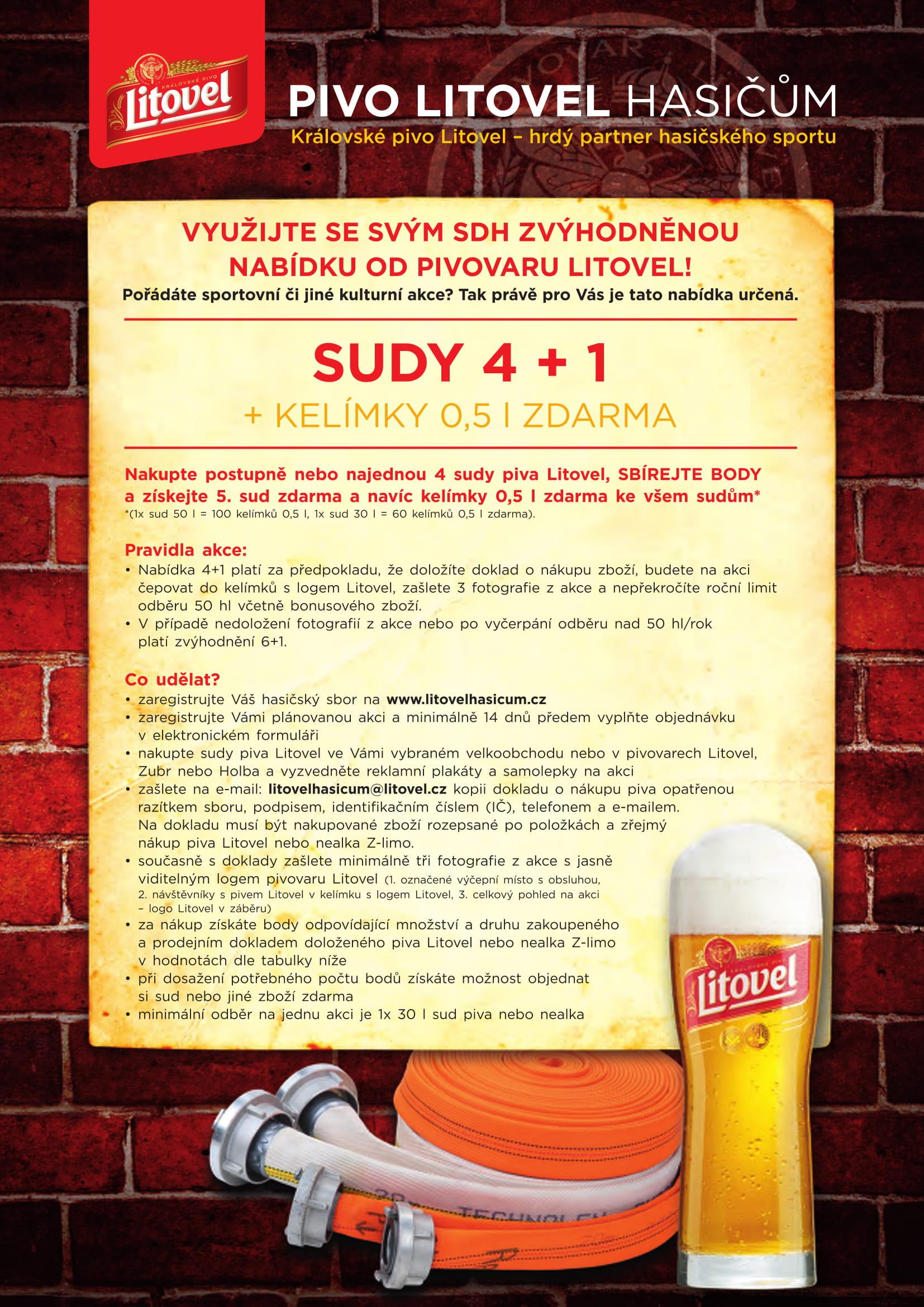 Pivovar Litovel Obchodní nabídka HS-1